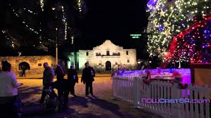 San Antonio River Walk Holiday Lights - YouTube