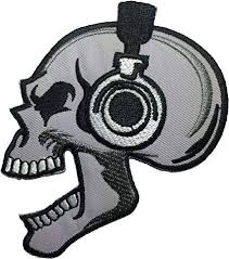 Papapatch Skeleton Skull Headphone Punk Rock ... - Amazon.com