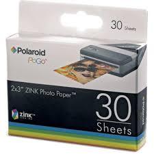 <b>POLAROID ZINK 2x3</b> (30) PHOTO PAPER (Pogo <b>M230</b>)