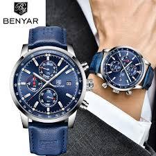 <b>BENYAR New</b> Watch <b>Men</b> Military Luxury Top Brand <b>Quartz</b>