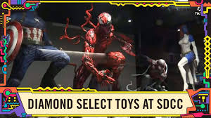 <b>Marvel</b> Toys in the Diamond <b>Select</b> Booth with <b>Marvel</b> at SDCC <b>2019</b> ...