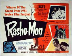 ese film rashomon and akira kurosawa rashomon poster from 1951
