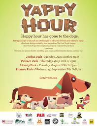 willow creek pet center yappy hour flyer