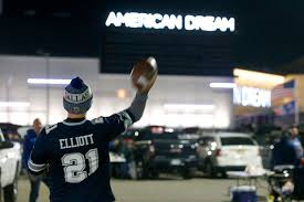 The American Dream mall wasn't a big draw for football fans -- yet ...