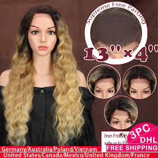 <b>Magic Hair 13X4</b> Free Parting Synthetic Lace Front Wig For Black ...