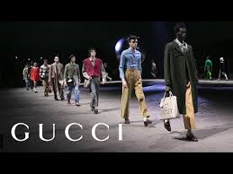 Gucci <b>Fall</b> Winter 2020 <b>Men's</b> Fashion Show - YouTube
