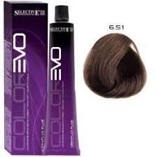 807032 <b>Selective ColorEvo Крем - краска</b> для волос 6.51 Тёмный ...