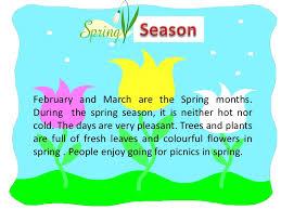 spring season essay for kids  wwwgxartorg weather and seasons