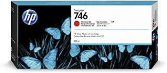 HP 746 Chromatic Red 300-ml Genuine Ink Cartridge ... - Amazon.com