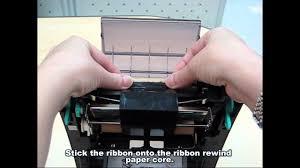 <b>TSC</b> TTP-245C: Loading the ribbon - YouTube
