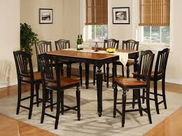 black kitchen dining sets:  amazing modern dining room furniture with rectangle black glass top dining for black dining room table