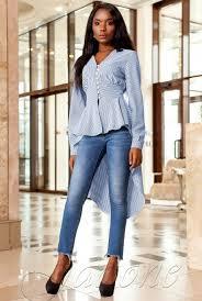 """Рубашка-туника <b>Гарсия</b> синий — """"Jadone Fashion"""""""