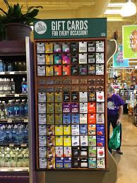 Blackhawk Network Gift Card Sales At Whole Foods Market...