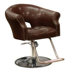 arnage styling chair in antique brown beauty salon styling chair hydraulic