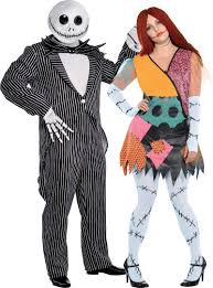 Plus Size Nightmare Before Christmas Couples Costumes   Party City