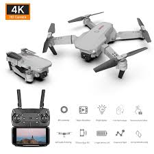 Spot new <b>4K aerial drones</b> dual cameras long life <b>folded</b> four-axis ...