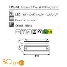 Купить потолочный <b>светильник Mantra</b> Tube <b>5533</b> с доставкой по ...