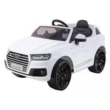 <b>Детский электромобиль HarleyBella</b> - <b>Audi</b> Q7 (белый)