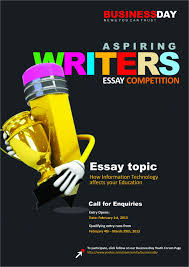 businessday aspiring writers competition literature ia