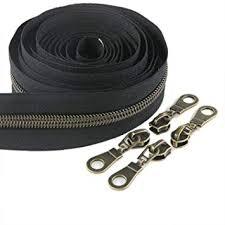 Amazon.com: #5 Antique Brass Metallic Nylon Coil <b>Zippers</b> by The ...