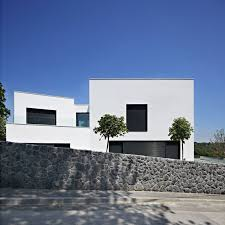wonderful white black wood glass unique design modern minimalist f house stone natural fence tree wall awesome black white wood glass