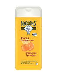 <b>Гель</b>-<b>пена для душа</b> грейпфрут и апельсин 650 мл LE PETIT ...