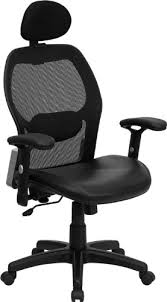 high back super mesh office chair with black italian leather seat lf w42b black office chair