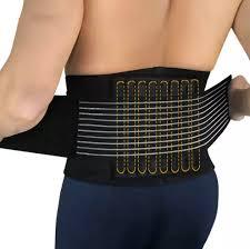 IS 1PCS <b>Lumbar Support Waist</b> Pain Back Injury Supporting Brace ...
