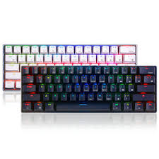 Royal kludge <b>rk61</b> 61 <b>keys mechanical gaming keyboard</b> bluetooth ...