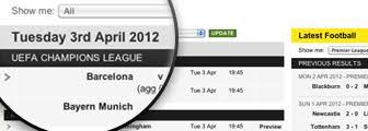 Scores & Fixtures - Football - BBC Sport