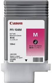 <b>Canon PFI</b>-<b>104M</b>   <b>3631B001</b> оригинальный струйный <b>картридж</b>