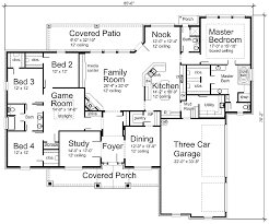 Luxury House Plan S R   Texas House Plans   Over Proven    First Floor