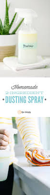 love this dusting spray no vinegar scent and super easy to make this picks best way to dust furniture