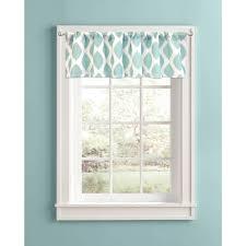 bedroom window valances valance idea ocean blue and white window valances polkadot white and ocean blue win