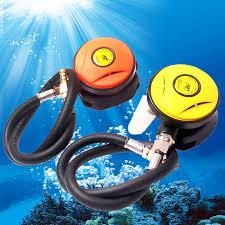 <b>Yellow</b>/<b>Orange 2nd stage</b> adjustable regulator Explorer Diving ...