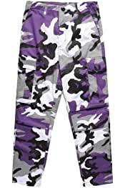 YIhujiuben <b>Mens Casual Loose Fit</b> Military Cargo Camouflage ...