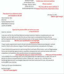 office assistant practicum cover letter medical assistant cover letter example