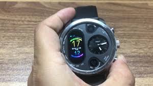 LEMFO T3 <b>Dual Display</b> Smart Watch For <b>Men</b> IP68 Waterproof ...