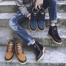 <b>Men</b> Low Ankle Boots <b>Plus</b> size <b>Flat Shoes</b> safety <b>shoes</b> | Shopee ...