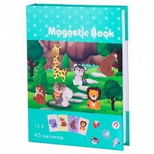 <b>Развивающая игра Magnetic Book</b> В зоопарке - купить в Москве ...