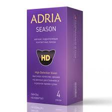 купить <b>контактные линзы</b> Adria <b>Season</b> (<b>4</b> шт.) по выгодной цене ...