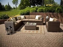 rattan patio furniture sets cozy