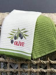<b>Набор Кухонных Полотенец</b> Arya 40X60 2 Пр. Olive <b>Arya home</b> ...
