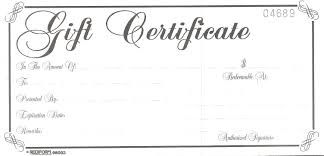 gift certificate gift certificates for the ones you love call us now for more details or simply send us e mail