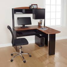 large size of desk modern small corner desk with hutch wood construction black finish cherry amazing large office corner