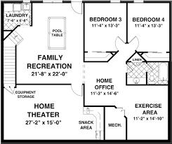 Basement house plans    Basement rancher house plans
