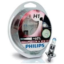 «Лампа галогеновая Philips VisionPlus <b>Лампа H1</b> 12V <b>55W</b> P14,5s ...