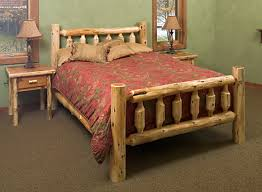 style bedroom log cabin