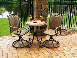 crossman piece outdoor bistro:  collection in patio furniture bistro set home design suggestion  piece bar height patio table and