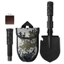 Vehicle Engineer Shovel <b>Multifunctional</b> Outdoor Adventure Field ...